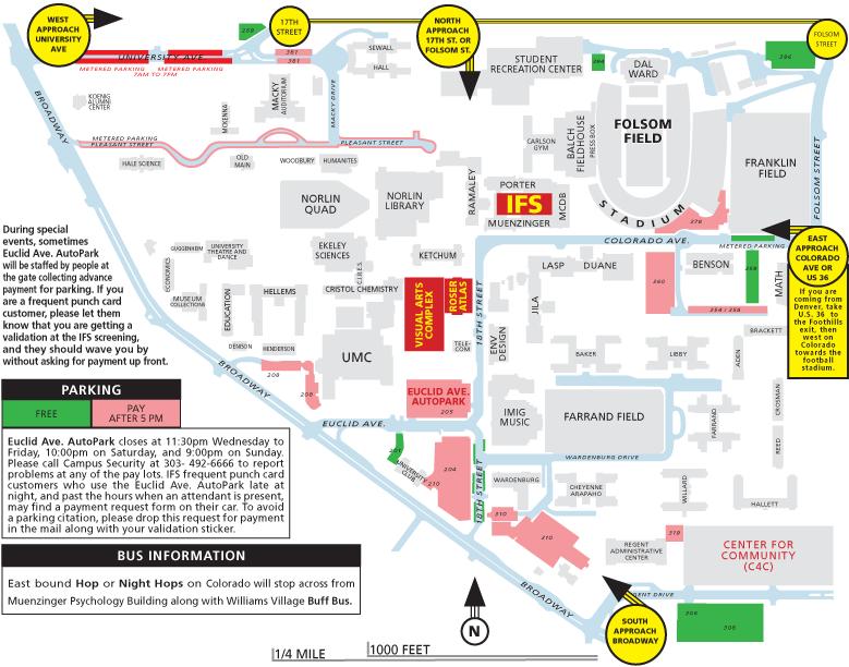 Campus Map University of Colorado Boulder - oukas.info